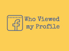 How to See The People Who View Your Profile On Facebook