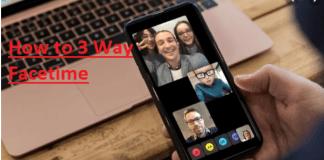 3 Way Facetime – How to 3 Way Facetime | How to do 3 Way Facetime