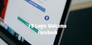 FB Login Welcome Facebook
