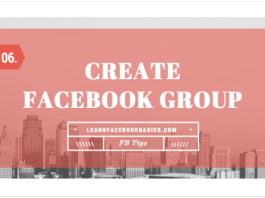 Creating A New Group On Facebook - How to Create Facebook Group
