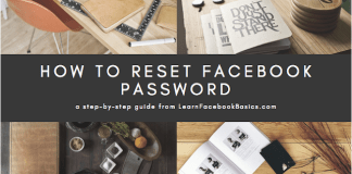 How to Reset Password on Facebook