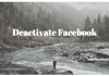 Deactivate Facebook Account Permanently Or Temporarily Immediately