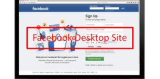 Desktop Facebook Link