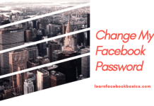 Change my facebook Login password