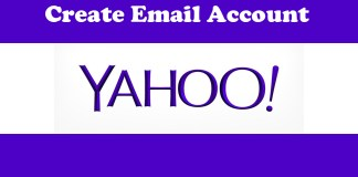 Create Account Yahoo