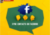 Sync Contacts on Facebook - Synchronize Facebook Contact