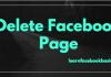 Delete Facebook Page Permanently Link