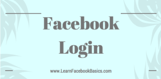 Login or Sign in to Facebook