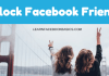 See how to block Facebook friends permanently