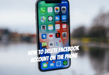How to delete Facebook account on the phone in 4 simple steps