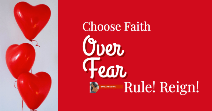 Choose faith over fear. Traverse this month confidently. Rule! Reign! Have a glorious month.