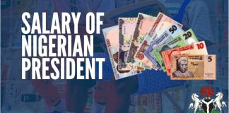 Salary Of Nigerian President