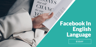 The Use of Facebook In English Language - Essay