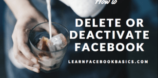 Delete Deactivate My Facebook Account temporarily or Forever Right Now #deletefacebook