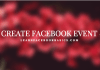 How to Create An Event on Facebook   Create New Facebook Event