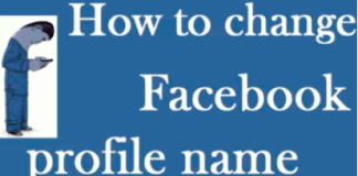 How Do You Change Your Profile Name On Facebook (update)