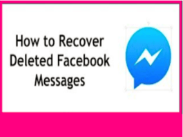 How Do You Recover Deleted Messages On Facebook 2020