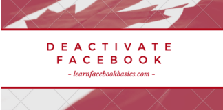 Deactivate My Account on Facebook - Guide