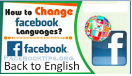 Facebook Back to English