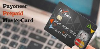 Sign Up for Payoneer Prepaid MasterCard