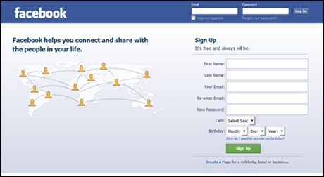 Sign login www in facebook How to