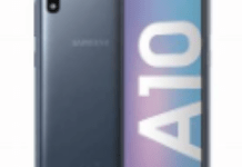 Samsung Galaxy A10 Spec and Features