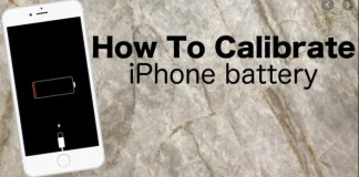 How to Calibrate an iPhone Battery