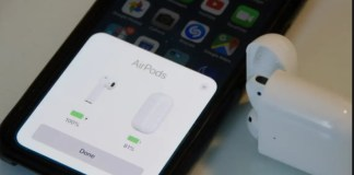 How to see your Airpod's battery life span