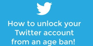 How to unlocked your twitter account
