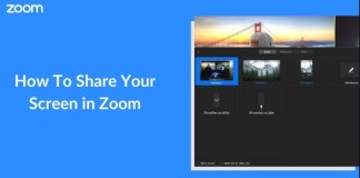 Share a Zoom Screen