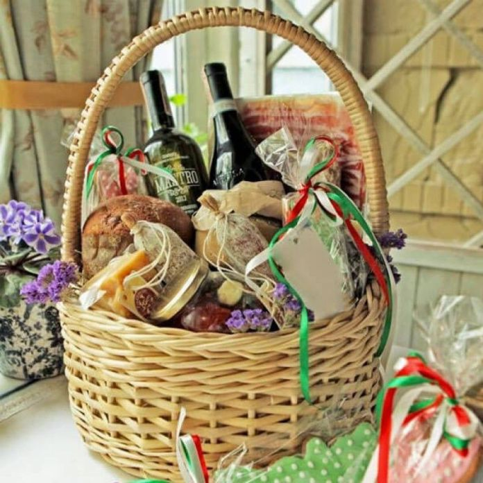 What can be included in the basket?