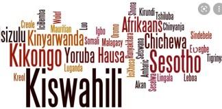 List of African Top Ten Language