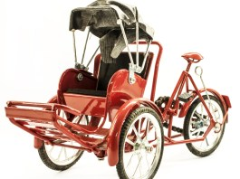 What is a pedicab?