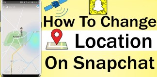 How To Fake Your Location On Snapchat 2021
