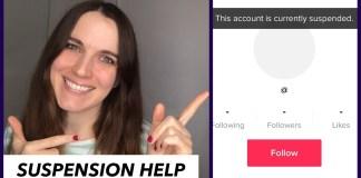 How to Unsuspend Your TikTok Account 2021