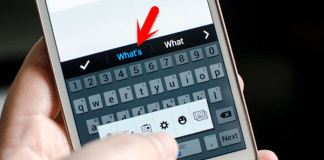 Instructions on how to remove words you've learned from your Android keyboard