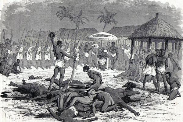 human_sacrifice - Ghanaian cultural practices
