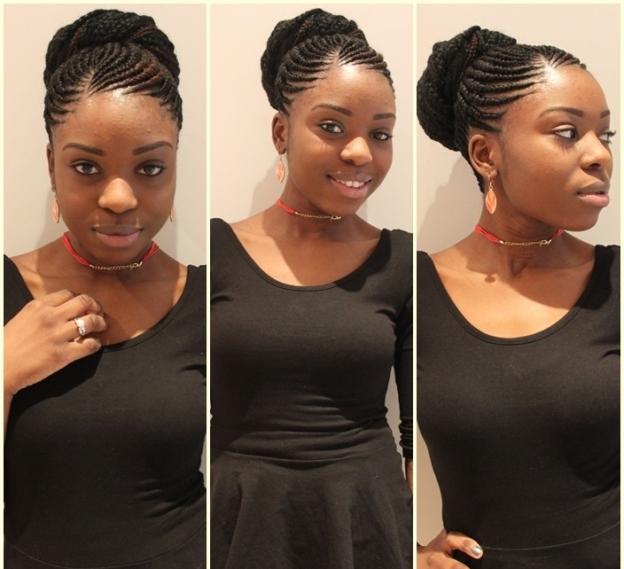20 Most Beautiful Styles Of Ghana Braids