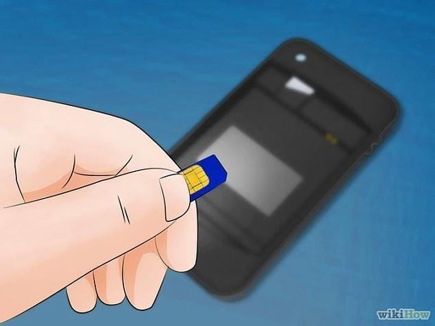 3. SIM kartınızı çıkarın.
