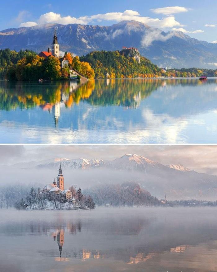 Lake Bled, Slovenya