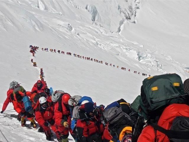 2013 Yılında Everest Dağına Çıkanlar