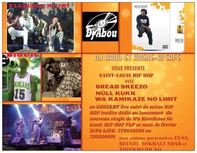 wa kamikaze no limit et dread skeezo en concert