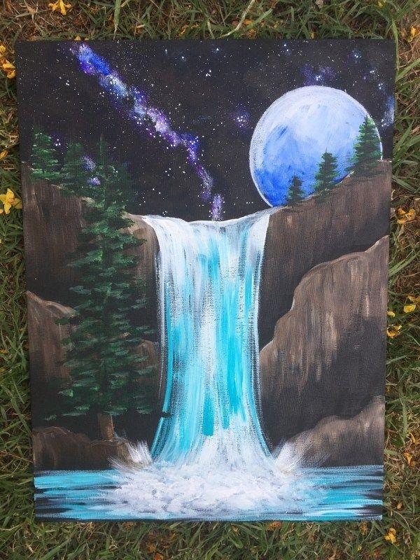 Easy Beginner Canvas Painting Ideas Novocom Top