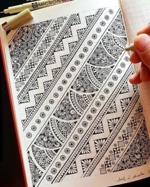 draw easy doodle patterns mandala zentangle drawings drawing bored simple dessin doodles bordures pencil mandalas lesson beginners patrones zeichnungen incredible