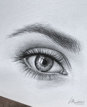 draw easy drawing pencil eye eyes sketch sketchbook close bored drawings realistic closed simple dessin zeichnung idea eines auges idee