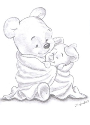draw easy beginners simple sketch drawings beginner stuff disney bored artwork inspirations entertaining ages very winnie pooh hippy buzz thestylishpeople