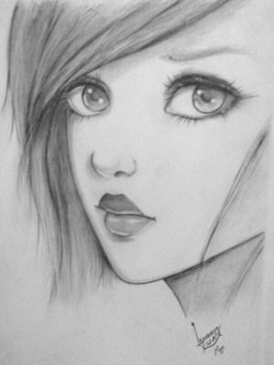 pencil easy sketches draw shading cartoon creative cartoons buzz reference hippy