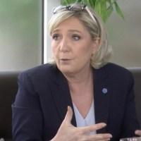 A J-38, une rencontre avec Marine Le Pen sans surprise