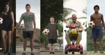 2014ブラジル ワールドカップ サッカーCM動画