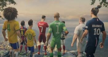 NIKEのサッカーアニメーション